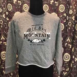 💜MADEWELL crop sweatshirt!!!